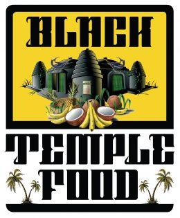 LOGO BLACK TEMPLE FOOD BASSE DEF
